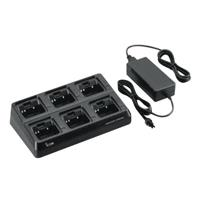 BC197 6 Way Multi Charger Inc BC157S PSU & AD121 Adaptors